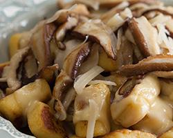 Gnocchi com Cogumelos