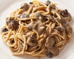 Executivo Spaghetti a Funghi Secchi